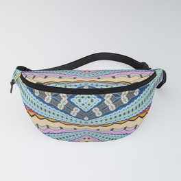 A Gentle Vortex Classic Psychedelica Print Fanny Pack