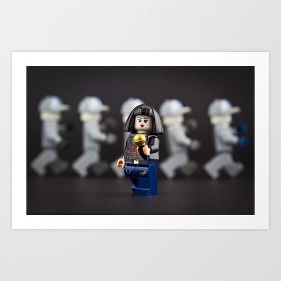 Lego Performer Art Print