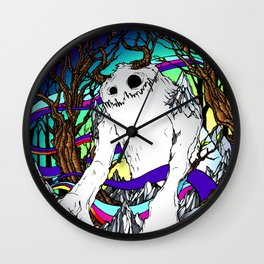 ELEMENTAL YETI Wall Clock