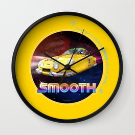 SMOOTH / AS A YELLOW (Tribute to Artua) Wall Clock