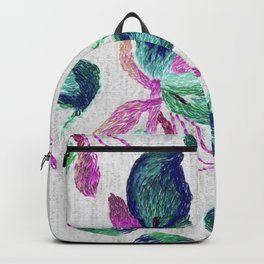 embroidered callas Backpack