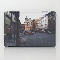 prague iPad Cases featuring PRAGUE by REASONandRHYME