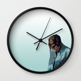 Chris Pine 3 Wall Clock