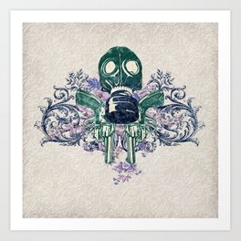 Post Apocalypse Punk Art Print