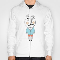 Mister hipster himself - ink drawing Hoody