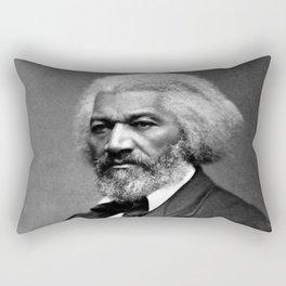 Frederick Douglass Portrait Rectangular Pillow