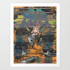 disquiet nineteen (unrecognized, well preserved) Art Print