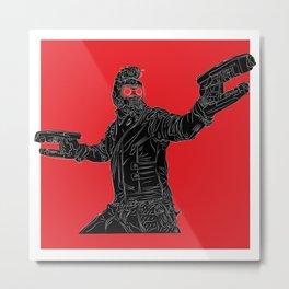 Star-Lord, GuardiansOfTheGalaxy Metal Print