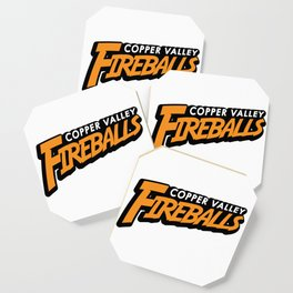 Copper Valley Fireballs Coaster