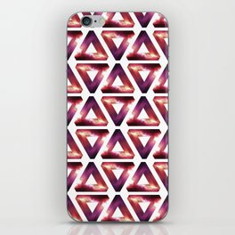 Some impossible triangles. iPhone Skin