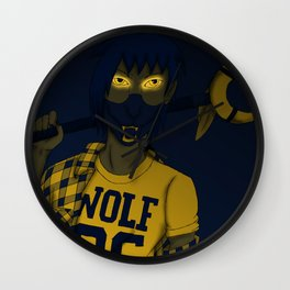 Wolf 05 Wall Clock