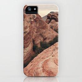 Desert mountain iPhone Case
