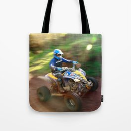 ATV offroad racing Tote Bag