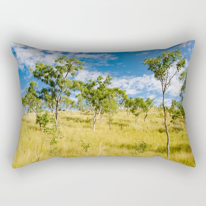 Savannah landscape Rectangular Pillow