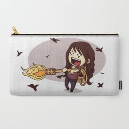 Bird Flaming Carry-All Pouch