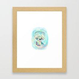 Moonbath 3 Framed Art Print