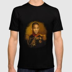 Will Smith - replaceface Black Mens Fitted Tee MEDIUM