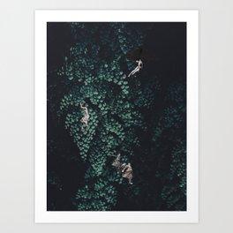 Into the Green Art Print