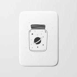 Space in a jar Bath Mat