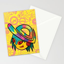 The Dopest Robot Logo Stationery Cards