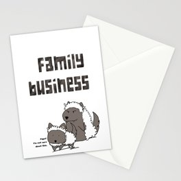 Family Business Stationery Cards