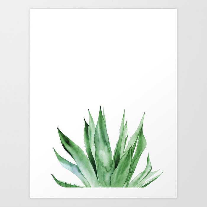Discover the motif AGAVE by Art by ASolo as a print at TOPPOSTER