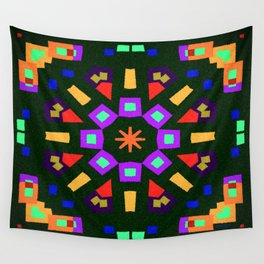 Symmetric composition 23 Wall Tapestry