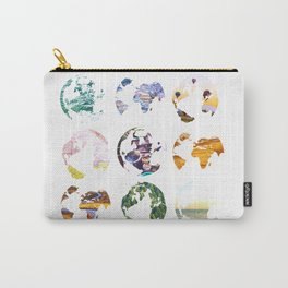Globes Carry-All Pouch