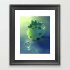 mini dino Framed Art Print