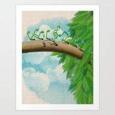 Music of Nature Art Print