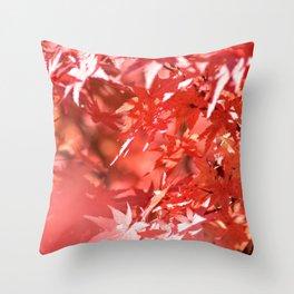 La douceur charme l'âme Throw Pillow