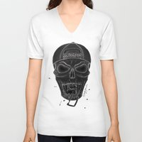 san diego V-neck T-shirts featuring San Diego  by MissLyoness