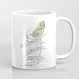 Miss Owl and Butterfly friend Coffee Mug