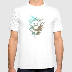 Bear | Zoo serie MEDIUM Mens Fitted Tee White