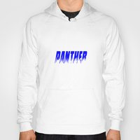 panther Hoodies featuring Panther by Brian Raggatt