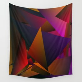 Smoke Screen Abstract 4 Wall Tapestry