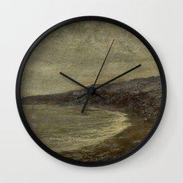 Arthur Hawksley - De eenzame baai Wall Clock
