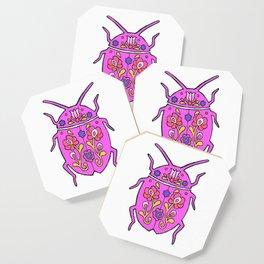 Matyo Ladybug Pink Coaster