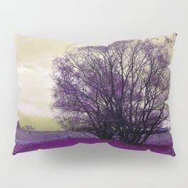 landscape in purple Pillow Sham