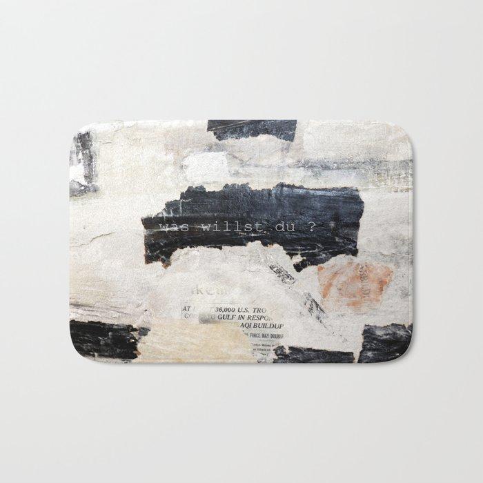 collage Bath Mat
