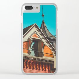 Sherbet House Clear iPhone Case
