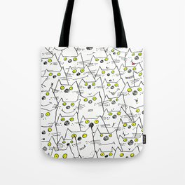 All Cat Eyes Are On You Tote Bag