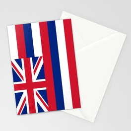 Hawaiian Flag, Official color & scale Stationery Cards