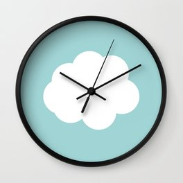 Counthing clouds Wall Clock