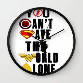 league justice Wall Clock