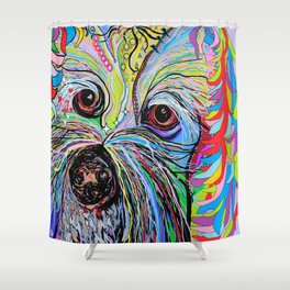 Cavapoo Shower Curtain