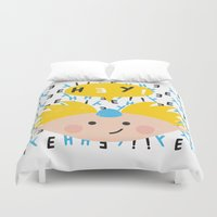 arnold Duvet Covers featuring Hey! Arnold by Carly Watts