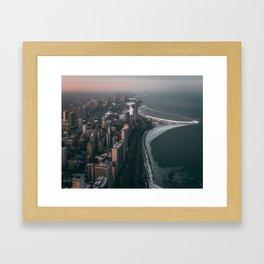 Chicago from the John Hancock Framed Art Print