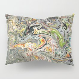 Abstract Oil Painting 25 Pillow Sham