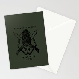 Spartans Never Die  |  Halo Stationery Cards